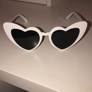 Accessories - New! Heart eye sunglasses